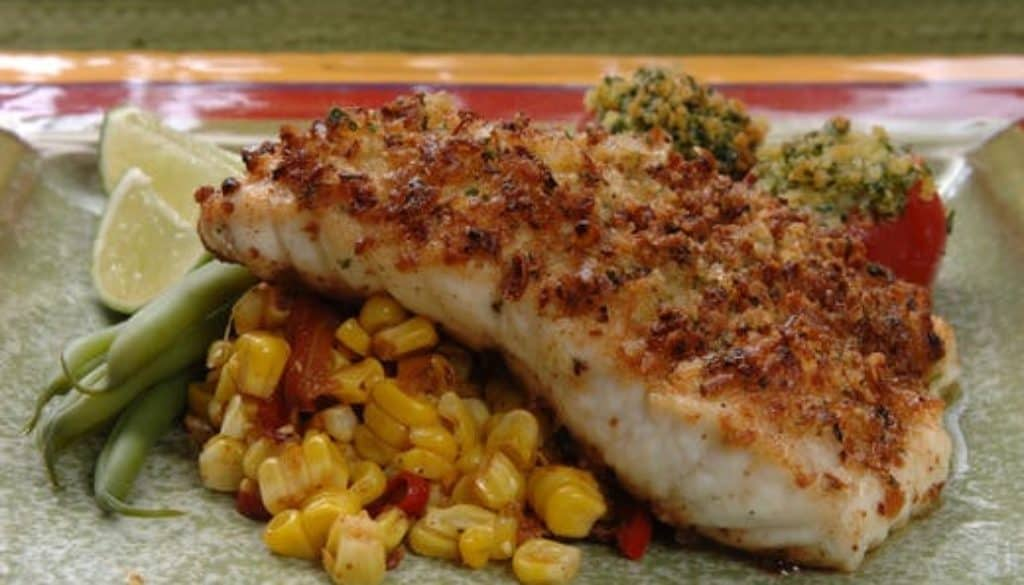 Onion-Crusted-Grouper-with-Roasted-Corn-and-Peppers_recipe