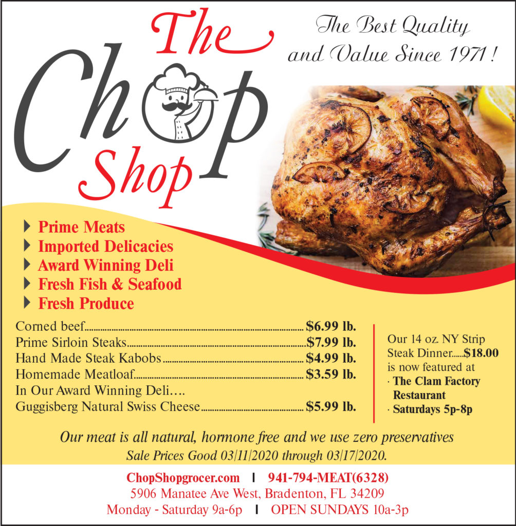 chop shop meat butcher sale